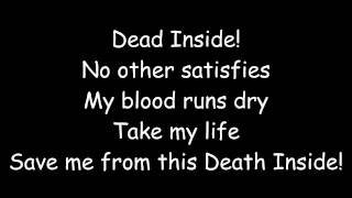 Skillet- Dead Inside (Lyrics)