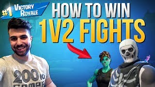 HOW TO WIN | Winning 1v2 Fights In Solos (Fortnite Battle Royale)