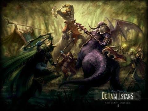 Warcraft 3 TFT Night Elf Vs Humans Push Amp Rush