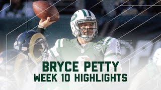Jets QB Bryce Petty's 1st Start | Rams vs. Jets | NFL Week 10 Player Highlights