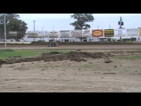 Fremont Speedway Non Wing Sprints Jimmy Light qualifying lap