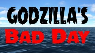 Godzilla's Bad Day - MMD Animation