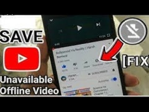 How to Save Unavailable Offline YouTube Video