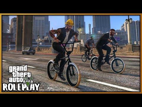 GTA 5 Roleplay - BMX Biker Gang Ride Out | RedlineRP #673