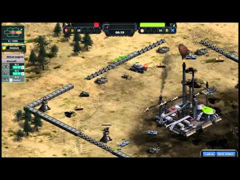 War Commander How To Capture Large and Giant of Oil and Metal without any losses by using Hellstorms