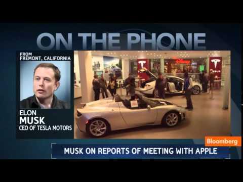Elon Musk Interview - Tesla Had Conversations With Apple