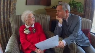 Is 110-year-old the oldest voter in New Hampshire?