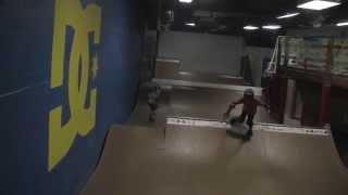 Julian and Brendan Skating and Practicing Football/Soccer Skills