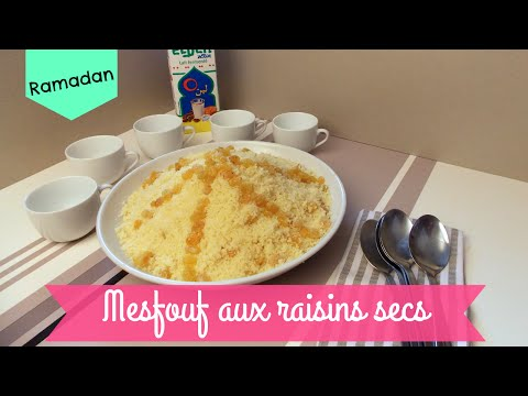 [-recette-ramadan-]-mesfouf-aux-raisins-secs