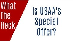 What the Heck is USAA's Special Offer