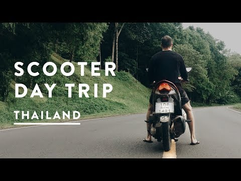 CHIANG MAI SCOOTER DAY TRIP - SAMOENG LOOP | Thailand Travel Vlog 051, 2017
