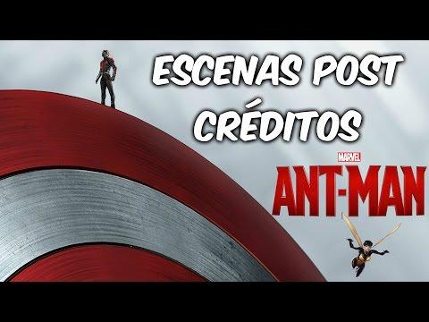ANT MAN | ESCENAS POST CRÉDITOS | EXPLICACIÓN | ¿CIVIL WAR?