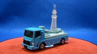 テコロジートミカ 東京スカイツリータウンジオラマ運搬トラック イルミネーションブルー thumbnail