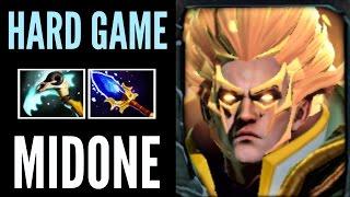 MidOne Invoker Dota 2 - Aghanim Scepter Incredible Top MMR Gameplay - Hard Game