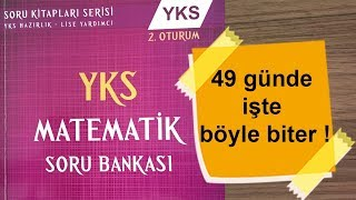 Karekök YKS (LYS) Soru Bankası'nı 49 Günde Bitiriyoruz.  (1 Aralık - 18 Ocak)