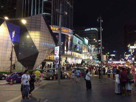 Kuala Lumpur. Bukit Bintang. Pavilion shopping mall.