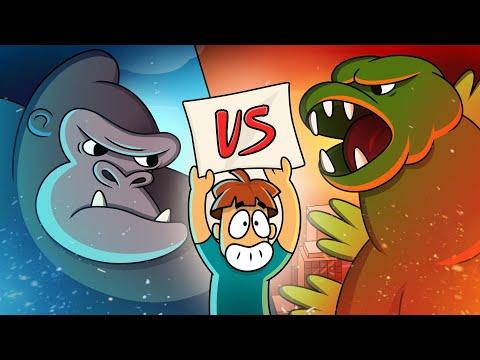 Was wäre, wenn King Kong und Godzilla Wirklich Existiert Hätten?