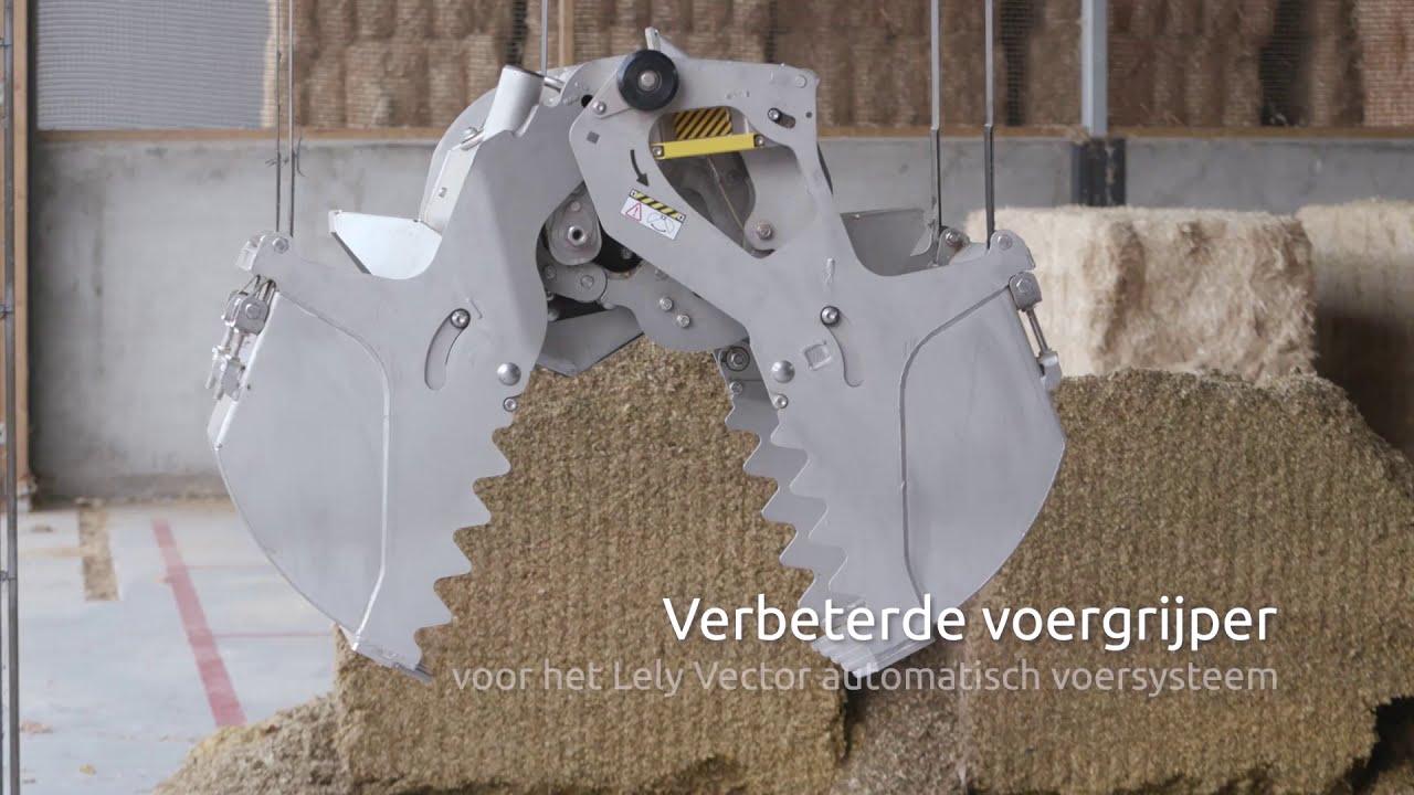 Verbeterde voergrijper voor het Lely Vector voersysteem