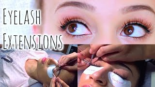 My Eyelash Extension Experience! VLOG + Q&A