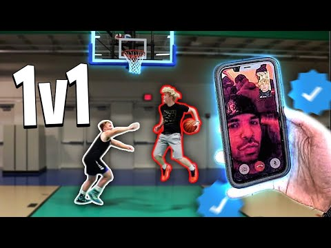 Asking Celebrities How To Score! 1v1 Basketball!