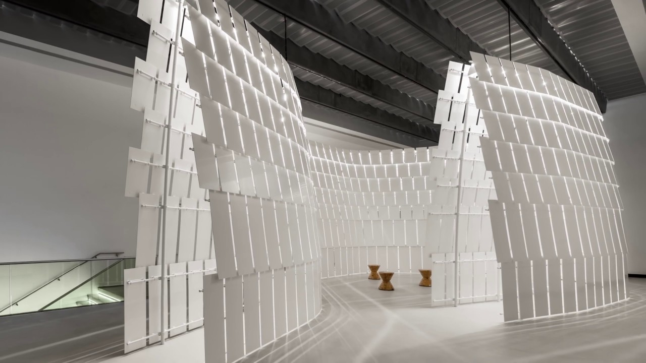 """Showroom It Rignano Flaminio l'anello mancante"""" by michele de lucchi: an installation in"""