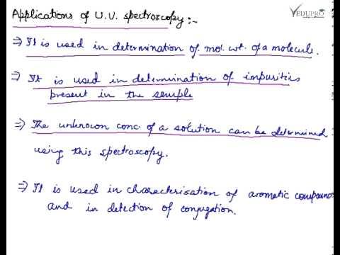 Visible And Ultraviolet Spectroscopy Biology Essay