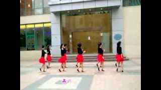 Linedance - Hey Samba 嗨 桑巴  上海金月亮排舞