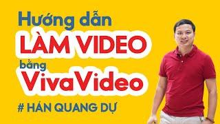 Hướng dẫn làm Video trên điện thoại bằng VivaVideo-Chèn nhạc của riêng mình