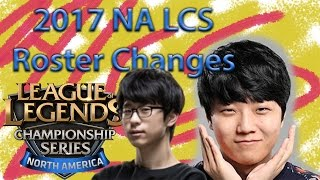 spring 2017 na lcs roster changes
