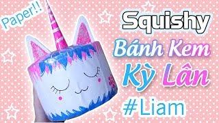 Squishy 3D UNICORN CAKE | Liam Channel
