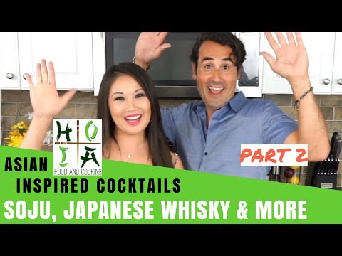How to Make HEALTHY ORGANIC Asian Inspired Cocktails  Recipe  Diane Yang Kirk  Ep 21
