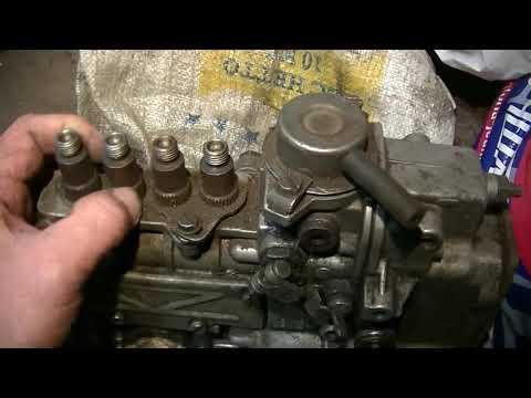 W123 240D - запасной ТНВД OM616 на запчасти