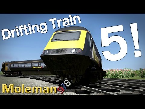 Drifting Train 5! | Class 43 HST