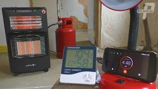 Газовый электрический обогреватель Luaziqi обзор и тест