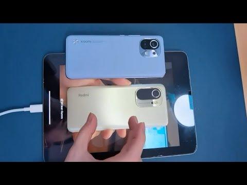 Redmi K40 Hands-On Video - Mi 11 Side-by-Side