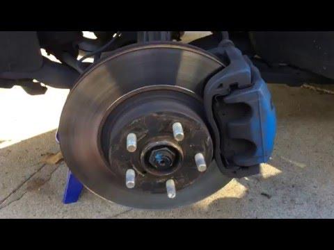 How to change brake pads on a Subaru