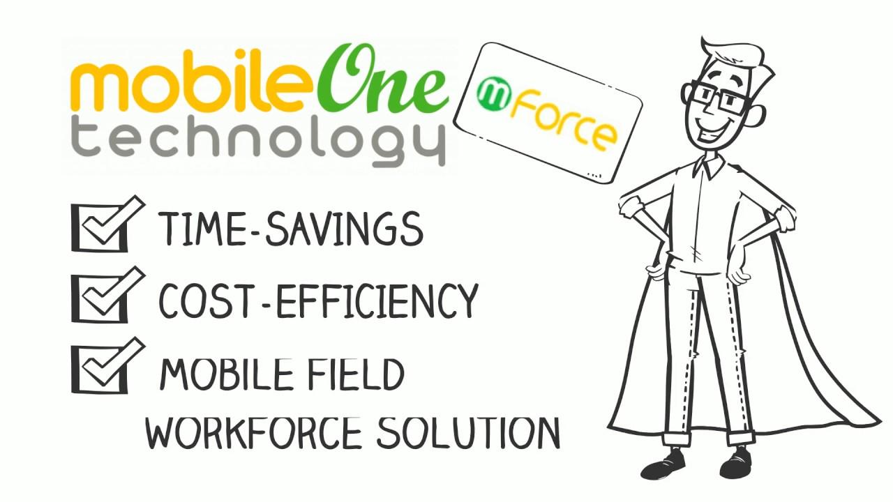 Mforce Mobile Workforce Management Solution Youtube