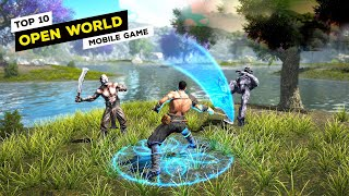 Top 10 Open World Games For Android & iOS 2020! (Offline/Online)
