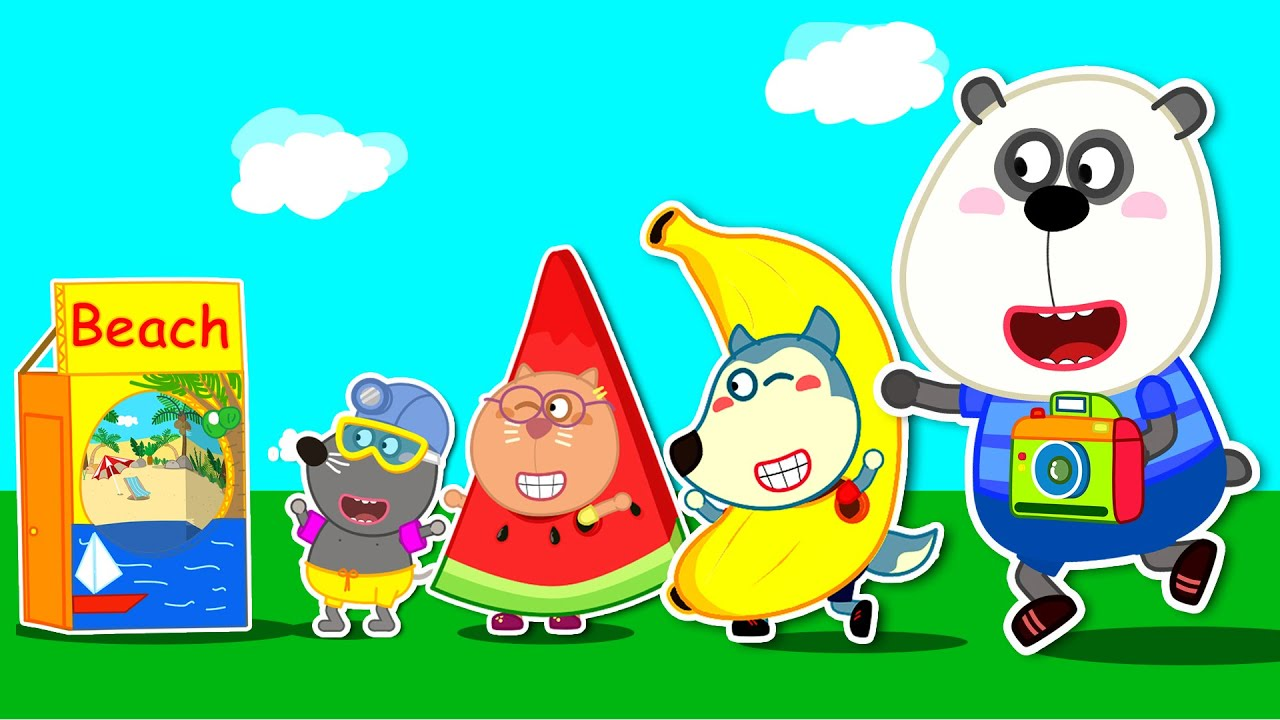 Wolfoo and Friends Have Fun in Photo Booth with Funny Dress Up | Wolfoo Family Kids Cartoon