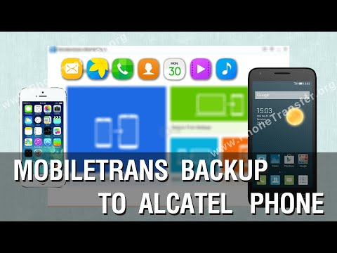 How to Restore Contacts, Photos, Music, s from Computer to Alcatel Phone