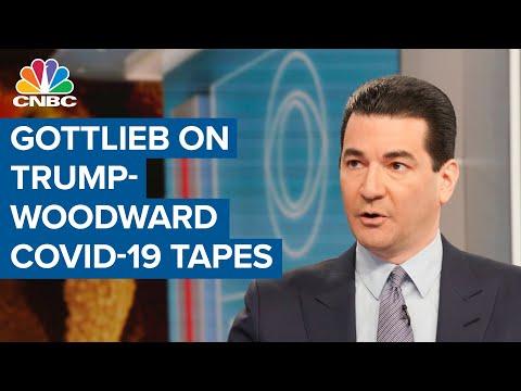 Former FDA chief responds to the Donald Trump-Woodward coronavirus tapes