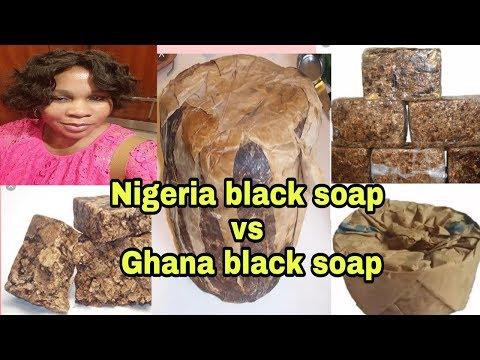 Comparison Between Nigeria Black Soap Vs Ghana Black Soap
