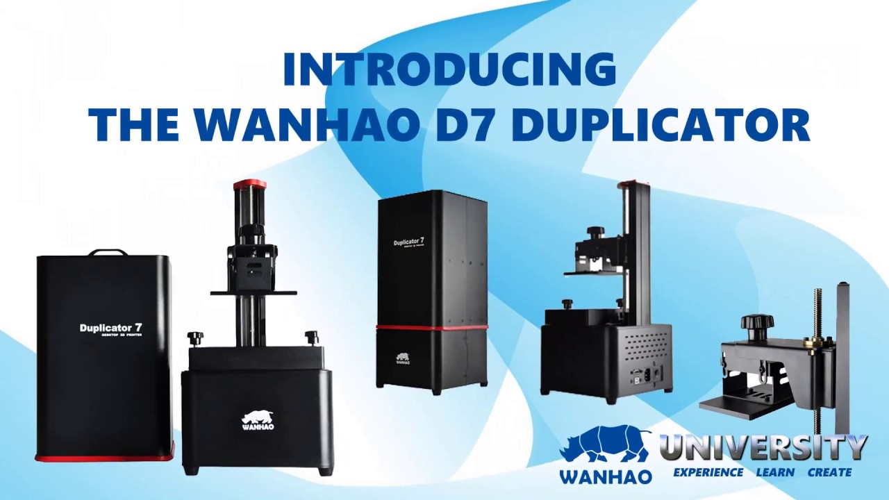 D7 Introduction - Hello! I'm the Wanhao D7 Duplicator.