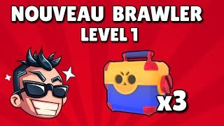 BRAWL STARS - ON DÉBLOQUE UN BRAWLER MYTHIQUE LEVEL 1 !! EPIC REACTION