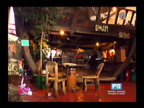 Inside Oh My Gulay, one of Baguio's popular vegetarian restaurants