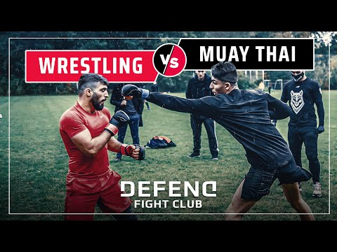 Turkish THAIBOXER vs. Dagestani WRESTLER | MMA Streetfights | DFC