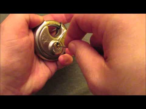 Chateau 970  6 pin disc lock  picked and raked open under 10 seconds unedited version