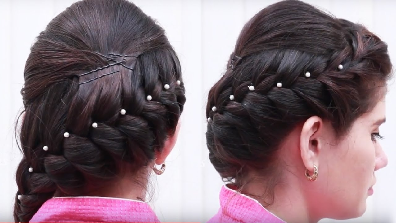 Latest Hair style for Girls || Ladies Hair style step by step ...