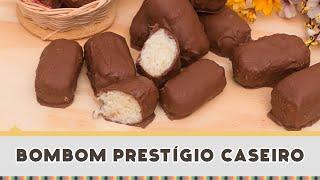 Bombom Prestigio Caseiro - Receitas de Minuto EXPRESS #152