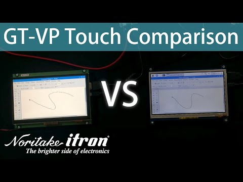Noritake GT-1P Touch Comparison | Overlay Thickness